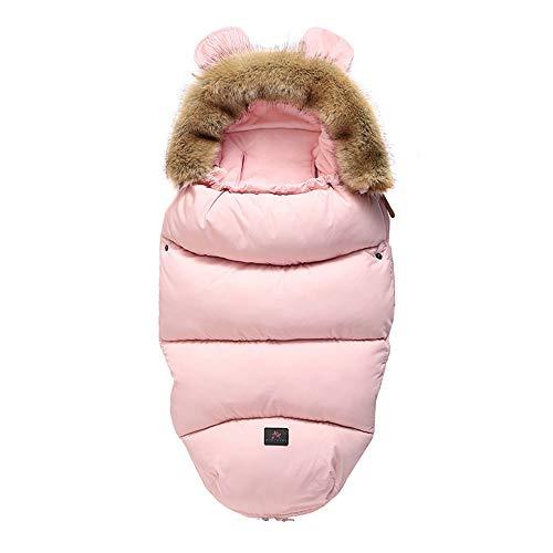 Baby Schlafsack Winter Honigwabe Daunenschlafsack Für Kinderwagen Neugeborenes...