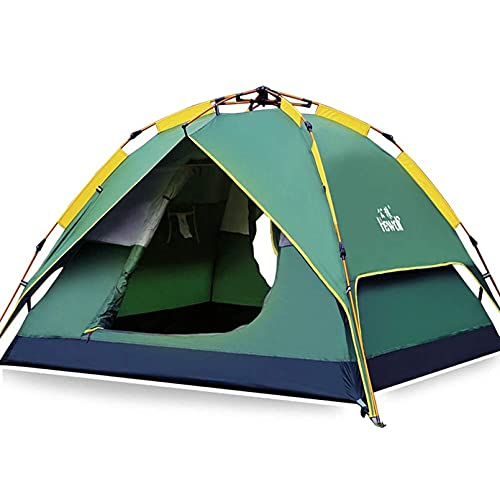 HEWOLF Wurfzelt Automatisches Pop Up Zelt 2-3 Personen Camping Zelt Familienzelt Leichtes...