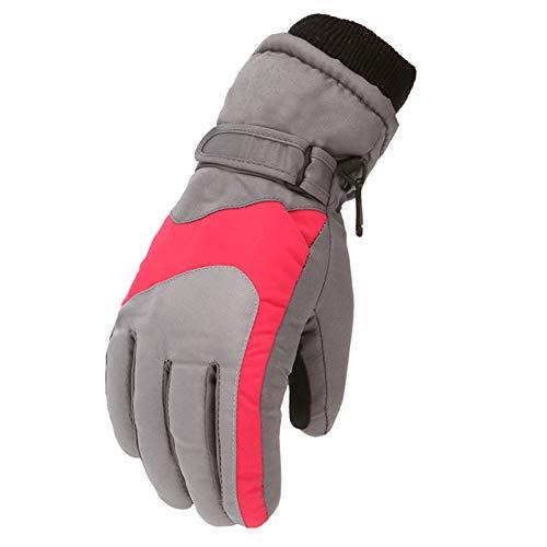 Kinder Skihandschuhe Warme Handschuhe wasserdichte Winddichte rutschfest für 5-8 Jahre...