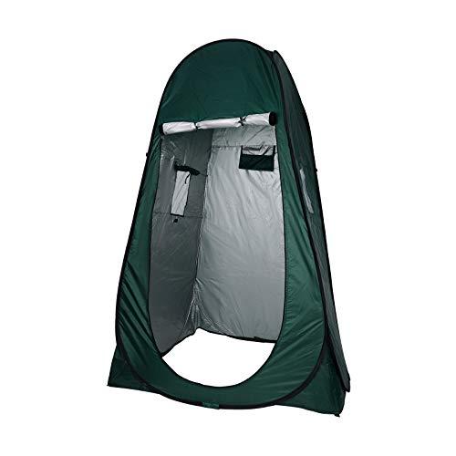 YORKING 190cm Zelt Duschzelt Toilettenzelt Umkleidezelt Camping Zelt Wasserfest...
