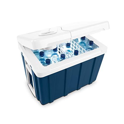 Mobicool MQ40W AC/DC - tragbare elektrische Kühlbox mit Rollen, 39 Liter, 12 V und 230 V für Auto, Lkw,...