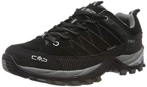 CMP Herren Rigel Low Shoes Wp Trekking-& Wanderhalbschuhe, Schwarz (Negro-Grey 73uc), 44...