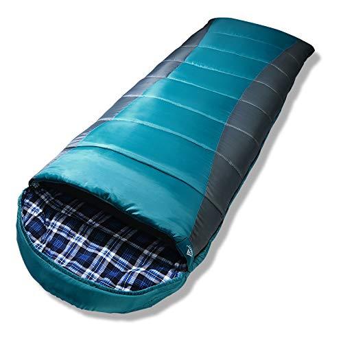 Forceatt Schlafsack für Camping 3-4 Jahreszeiten und kaltes Wetter (0 ℃ bis 20...