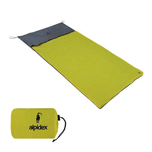 ALPIDEX wasserdichter Biwacksack BIWILD in verschiedenen Größen für 1 oder 2 Personen,...