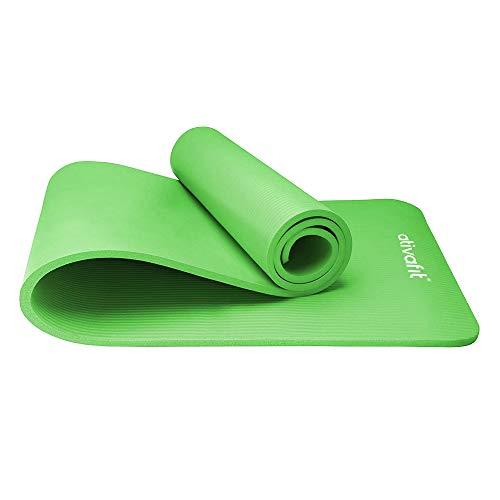 ATIVAFIT Phthalatfreie Yogamatte - rutschfest und gelenkschonend Sportmatte für Yoga...