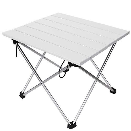 Linkax Tragbar Klapptisch Aluminium Campingtisch mit Tragetasche, Maximale Belastung 30 kg...