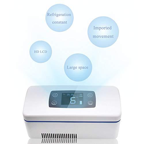 CGOLDENWALL 12Stunden Tragbare Insulin Kühlbox für Medikamente Mini Intelligente Elektrische Kühlschrank...