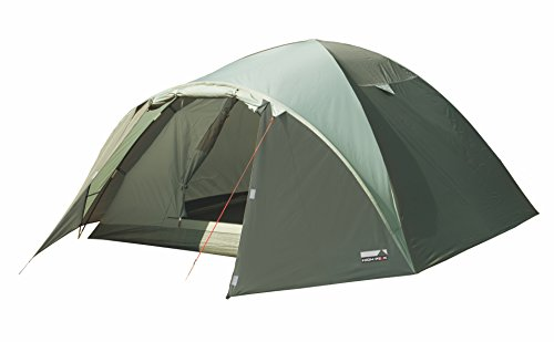 High Peak Kuppelzelt Nevada 3, Campingzelt mit Vorbau, Iglu-Zelt für 3 Personen,...