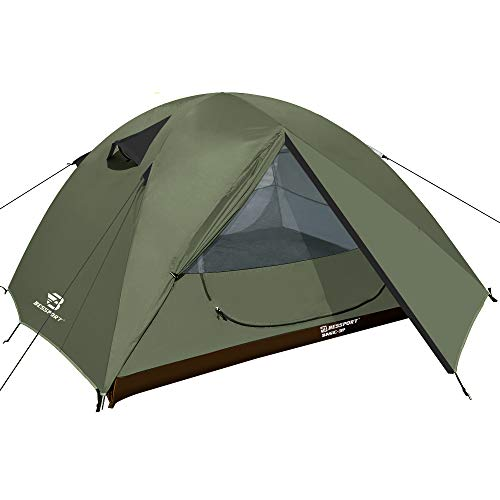 Bessport Ultraleicht Zelte 2-3 Personen Winddicht &Wasserdicht Kuppelzelt Einfach für Trekking, Festival,...