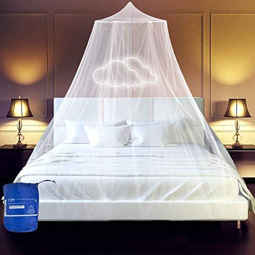 esafio Moskitonetz Bett, Groß Mückennetz inkl. Montagematerial, Moskitoschutz...