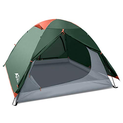 BFULL CampingZelte für Familie 2-3 Person, Ultraleicht Backpacking Zelt für Wandern,...