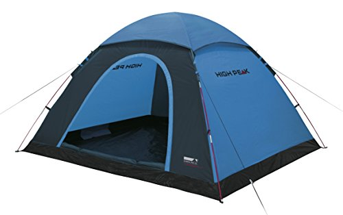 High Peak Kuppelzelt Monodome XL, Campingzelt für 4 Personen, Igluzelt, Festivalzelt mit...