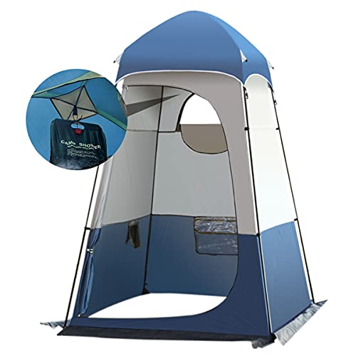Qdreclod Camping Duschzelt Draussen Tragbar Umkleidezelt Toilettenzelt Draussen, 160 ×...