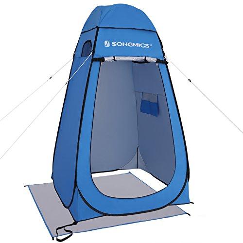 SONGMICS Pop-Up-Zelt, Toilettenzelt, Umkleiderzelt, für Outdoor, Camping, Angeln, Strand,...