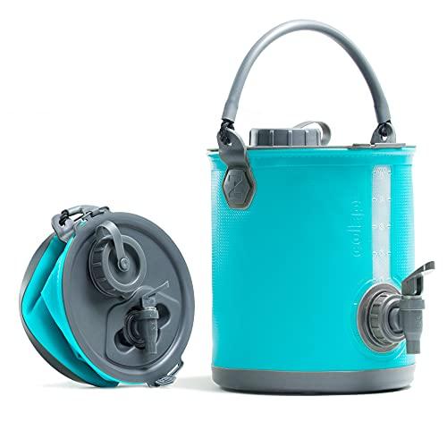 Faltbarer Wasserbehälter mit Hahn