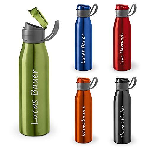 polar-effekt Personalisierte Trinkflasche mit Namen 650 ml Farbe hellgrün -...