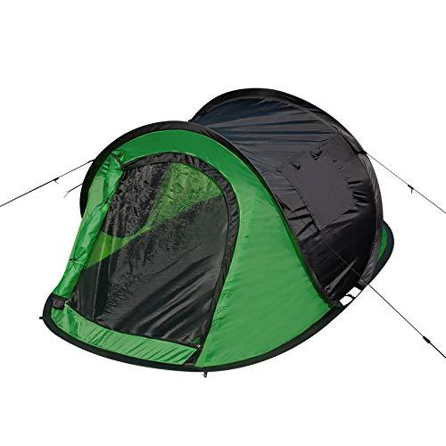 EUGAD Camping Pop Up Zelt Outdoor-Zelt für 2-3 Personen Wurfzelt Sekundenzelt wasserfest...