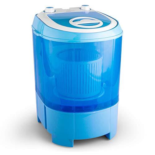 oneConcept SG003 - Camping-Waschmaschine, Mini-Waschmaschine, Wäscheschleuder, Toploader,...