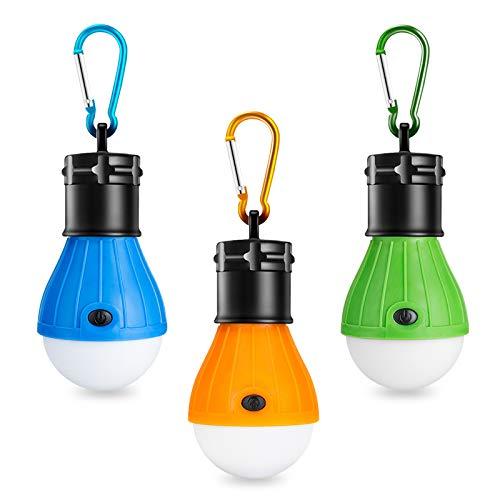 Winzwon Campinglampe, LED Camping Laterne, Tragbare Zeltlampe Laterne Glühbirne...