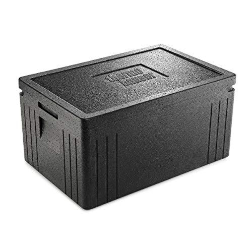 thermohauser EPP-Thermobox GN 1/1 Eco Line inklusive Deckel - 45 Liter Volumen - 60 x 40 x...