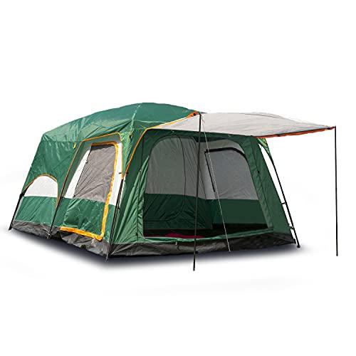 Activa Luxury Garden Outdoor Zelt für 4-6 Personen und 3 Jahreszeiten mit Vorzelt...