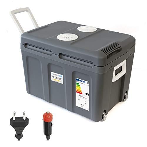 Dino KRAFTPAKET 131002 Kühlbox 12V 230V (WÄRMT & KÜHLT) HÖHE: 42cm GRÖSSE: 45-Liter...