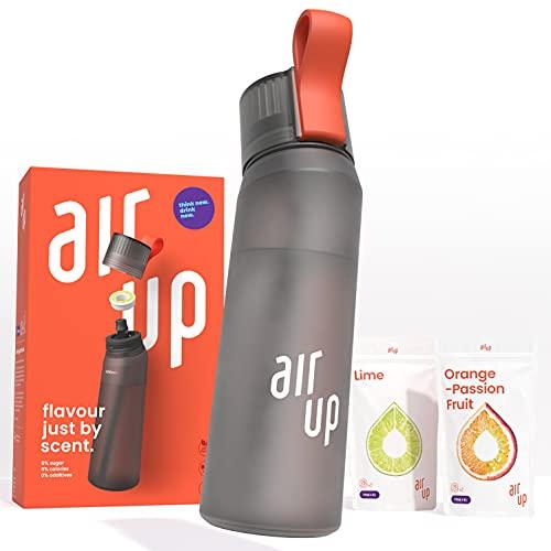air up Starter-Set - 1 x Trinkflasche BPA-freies Tritan 650 ml 2 x Pods Geschmack Limette...