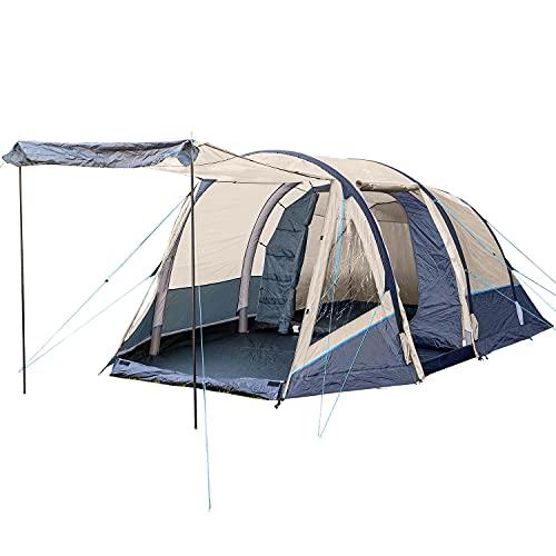 Skandika Aufblasbares Zelt Folldal 4 Air-Rise für 4 Personen   Zelt mit eingenähtem...
