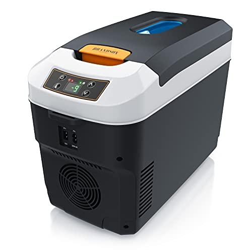 Brandson - Kühlbox elektrisch 10L – 230 V Netzspannung und 12 V KFZ Auto Bordspannung...