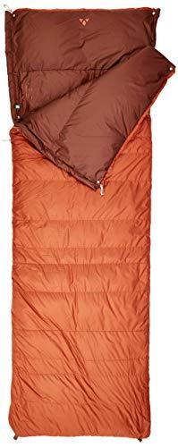 VAUDE Schlafsack Kamor 700 DWN, warmer Daunenschlafsack mit 700g Füllung, mit zweiten...