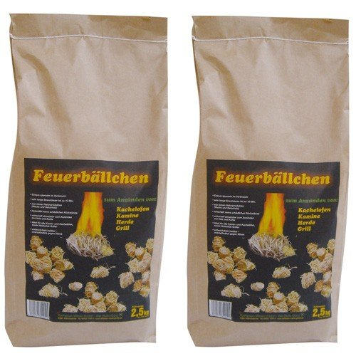 RaiffeisenWaren Kaminanzünder, Feueranzünder, Feuerbällchen (Anzünder ökologisch, aus...