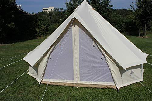Herzog Tipi Zelt Cotton Baumwollzelt Sahara Zip 400 Tipizelt Pyramidenzelt Indianerzelt...