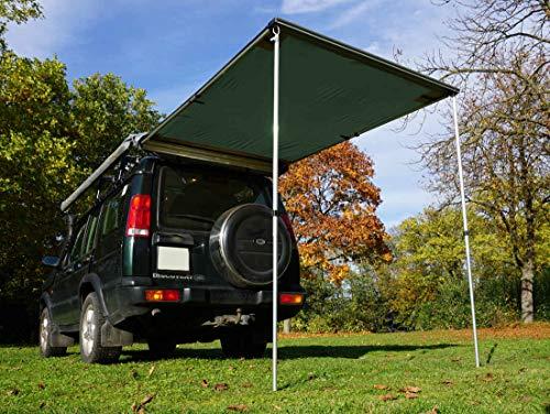 Prime Tech Fahrzeug-Markise 150x200x210cm grün auch für Dachzelte