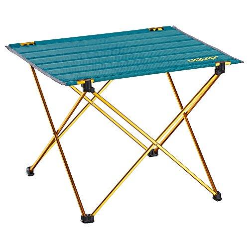 Uquip Falttisch Liberty, Leichtgewichttisch bis 30 kg belastbar, Blau