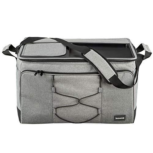 bomoe XXL Kühltasche faltbar - Große Outdoor Kühlbox - 52 Liter Tasche mit...