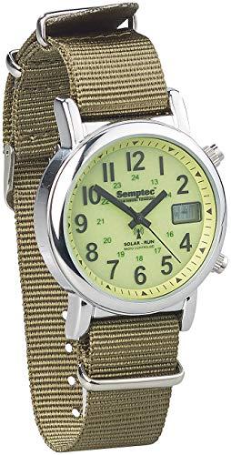 Semptec Urban Survival Technology Survival Uhr: Outdoor-Armbanduhr mit Funk und...