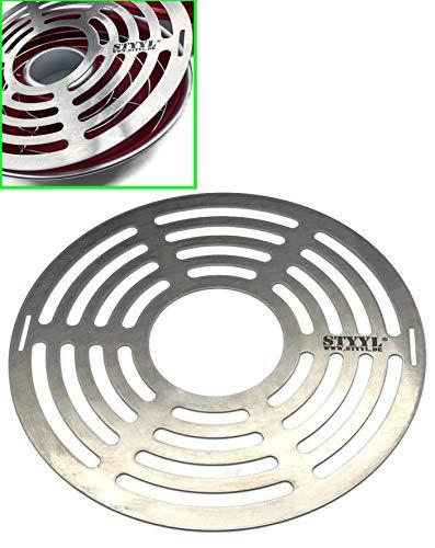 STYYL Gitterrost (2.te Ebene) passend für Omnia®-Backofen aus Edelstahl   Backblech  ...