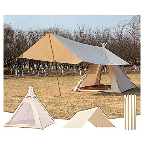 TAOBEGJ Zelt Für 3/4 Personen   Wasserdichtes Baumwollzelt, Upgrade-Ultralight-Zelt,...