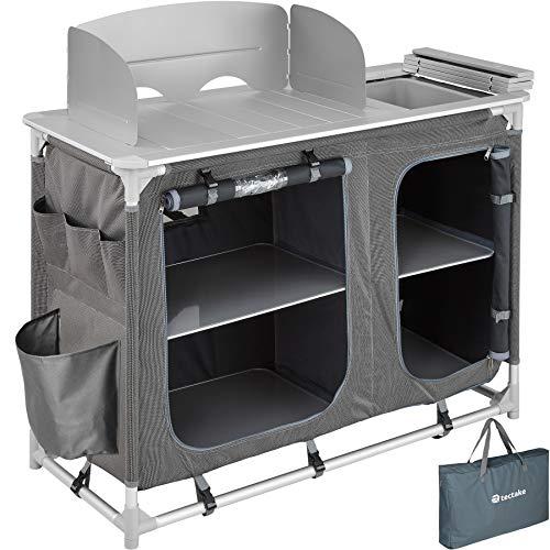 TecTake 800585 Outdoor Camping Küche - Diverse Modelle wähblar - (Typ 2 | Nr. 402920)