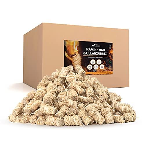 Bolson Grill- & Kaminanzünder (10 kg) aus Holzwolle & Wachs - Ökologische & FSC...