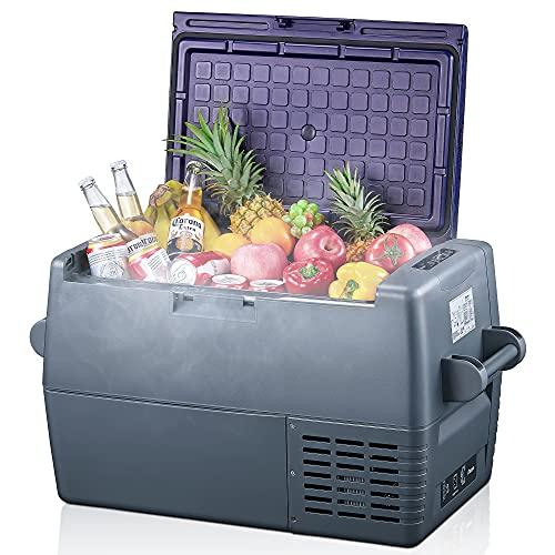 45 Liter Kühlbox 12V Tragbarer Auto-Kühlschrank Elektrische Gefrierbox Klein...