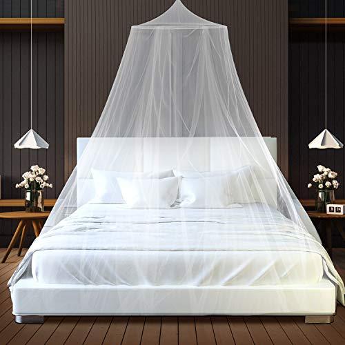 Moskitonetz, Moskitoschutz Doppelbetten under Einzelbett Reise, Groß Mückennetz inkl....