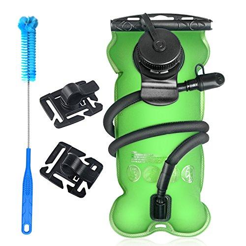 Tagvo Trinkblase 3L mit Reinigungsbürste Wasserblase für Sport Wandern Fahrradfahren...