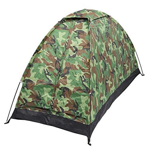 AIBOOSTPRO Single Camouflage Camping Zelt Geeignet für Picknick Park Camping und andere...