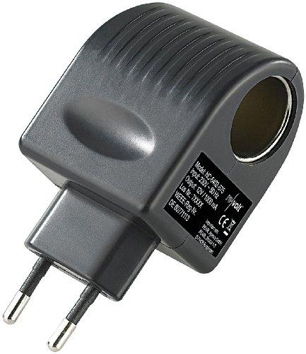 revolt 12V Adapter: Mini-Spannungswandler von 230 auf 12 Volt, 1 A / 12 Watt, Steckversion...