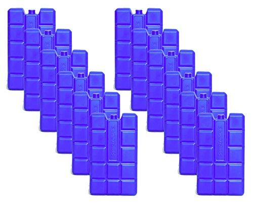 NEMT 12 Stück 400 ml Kühlakkus Kühlelemente für Kühltasche oder Kühlbox bis 20 h...