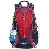 EGOGO 30L Wasserdicht Wanderrucksack Camping Rucksack mit Regenschutz Laufen Radfahren im...
