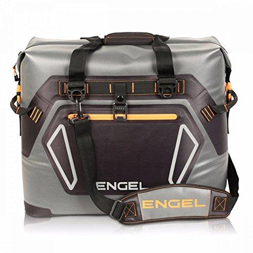 Engel HD30 Kühltasche, wasserdicht, weich, Grau / Orange