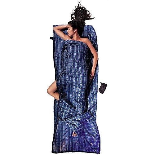 Cocoon Koppelbarer Seidenschlafsack Travel Sheet Coupler - Silk