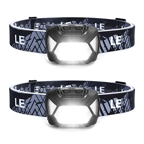 LED Stirnlampe zwei Stück